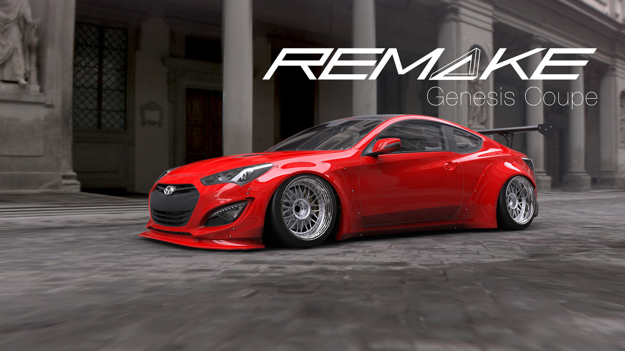 13 14 Mustang Body Kits >> Remake Body Kit for Hyundai Genesis Coupe
