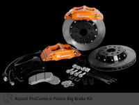 "Ksport Rear ProComp 15"" 6 Piston Big Brake Kit for 2010+ Genesis Coupe"