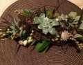 'NATURE'S BOUNTY' FLOWER CROWN - 48hrs notice required/Pick up Only
