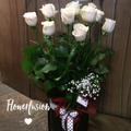 Roses in a Hatbox - From $85.00