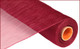 "Deco Mesh - Burgundy - 21"" X 10Yd (RE100205)"