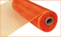 """10"""" Deco Poly Mesh: Two Tone Red/Gold"""