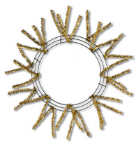 Pencil Work Wreath - 18k Gold (XX751108)