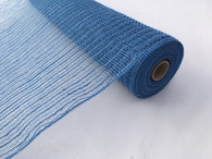 "21"" Denim Poly Jute Mesh"