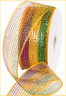 Deco Mesh Panel Mesh Ribbon - Mardi Gras Bold (RS2018C6)