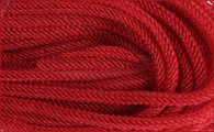 Faux Jute Flex Tubing: Red - 8mm X 30Yds