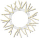 Cream Pencil Work Wreath (XX750439)