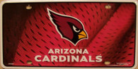 Arizona Cardinals NFL Fan Metal License Plate