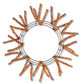 Pencil Work Wreath - Metallic Copper (XX751138)