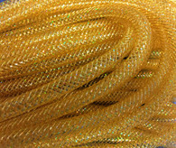 Deco Flex Tubing: Gold with Laser Gold Foil - 8mm