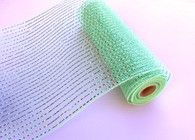 "10"" Decor Mesh: Metallic Mint - Thin"