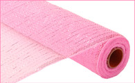 "21"" Deco Poly Mesh: Metallic Pink"
