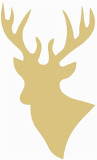"14"" Deer Head Cutout"