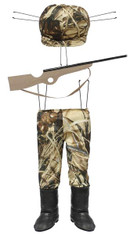 Camouflage Duck Hunter Wreath/Decor Kit