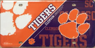 Clemson University Deluxe Novelty License Plate