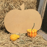 "14"" Wide Pumpkin Shape, Unfinished"