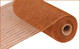 """Metallic Brown with Copper Foil - 10"""" X 10Yd (RE130104)"""