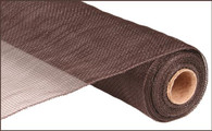 "21"" Deco Poly Mesh: Chocolate Brown"