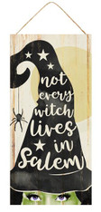 "12.5"" Salem Witch Sign"