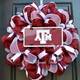 Mesh Texas A&M Wreath - ATM License Plate