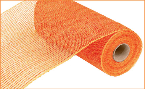 "Metallic Orange with Wide Orange Foil - 10"" x 10Yd (RE134120)"