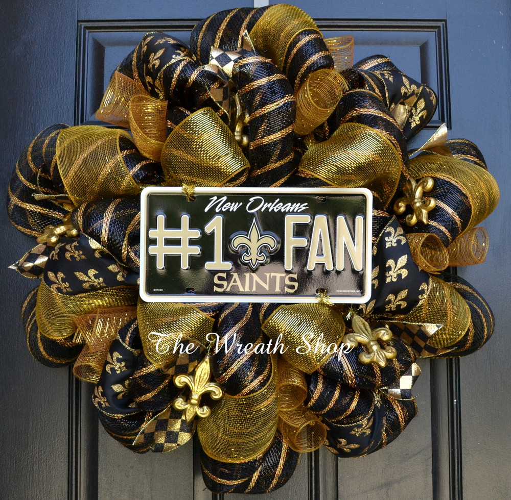 New Orleans Saints Nfl Wreath