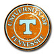 Tennessee Volunteers Embossed Metal Circular Sign