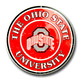 Ohio State Embossed Metal Circular Sign (C-056)