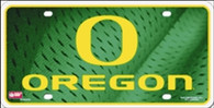 University of Oregon Ducks Embossed Metal License Plate (LP-5432)
