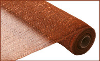 "Metallic Brown with Copper Foil - 21"" X 10Yd (RE100104)"