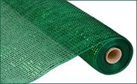 "Metallic Emerald Green with Wide Emerald Foil - 21"" X 10Yd"