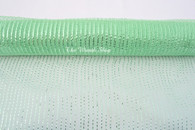 "Metallic Mint Decor Mesh with Mint Foil - 21"" X 10Yd - Thin"