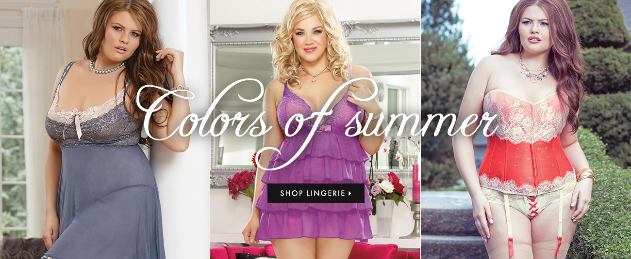 Colors of Summer - Shop Lingerie