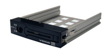 "VENUS Single Removable Tray, Fits 2.5"" and 3.5"" SATA/SSD HDDs. Aluminum/Plastic. Anti-Vibration Design, Comes with security key and mounting screws.Support Model# DS-136SSBK,DS-2131SSBK,DS-3141SSBK,DS-3151SSBK,DS-DS3RPRO,DS-2350S,DS-2350J,DS-2350C."