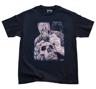 Tribal Sal Gasmask T-Shirt