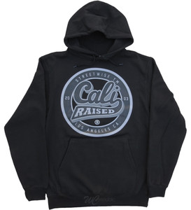 Streetwise CA Raised Hoodie in black.