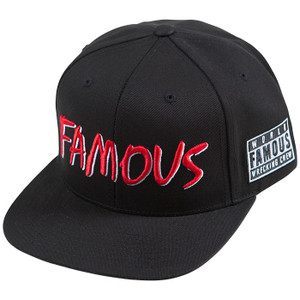 Famous Stars and Straps SWA Hat in black.