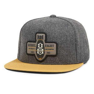 Rebel8 Mass Disruption Snap Back Hat