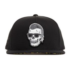 Rebel8 Sleeze Snapback Hat - front