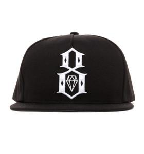 Rebel8 Standard I/Logo Snapback Hat - front