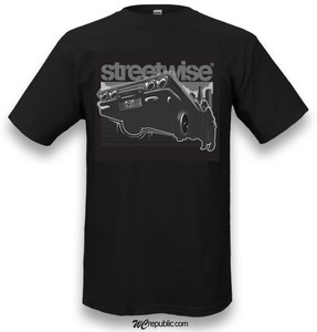Streetwise 6 Trae T-Shirt in black - Front