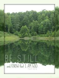 Be Still (Lake) - 5 Blank Notecards