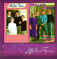 Home in Gloryland/One Scarred Hand CD by Miller Four