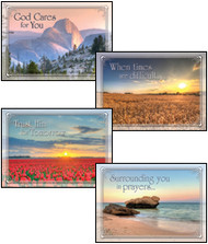 KJV Boxed Cards - Encouragement, In the Master's Care (Cancer)
