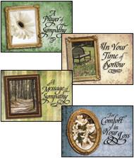 KJV Boxed Cards - Sympathy, Portraits of Comfort
