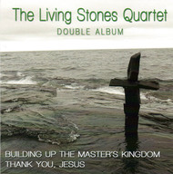 Building Up The Master's Kingdom/Thank You, Jesus CD by The Living Stones Quartet