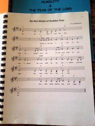Provision & Blessing Vol 4 Sheet Music - Singables KJV Scripture Songs