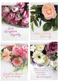 KJV Boxed Cards - Anniversary, Lasting Love
