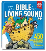 The Bible In Living Sound - Audio Dramatized Bible Stories - MP3 on DVD