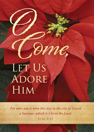 KJV Boxed Cards - Christmas, O Come Let Us Adore Him